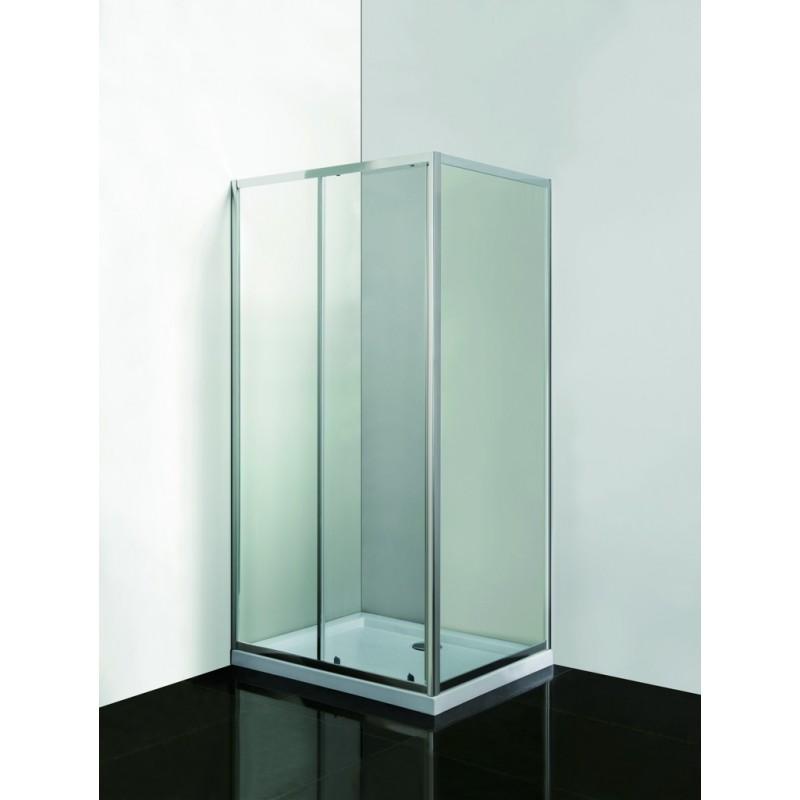 Olsen Spa SMART SELVA+ PINA - obdélníkový kout s vaničkou, sklo čiré 6mm