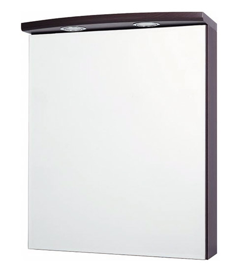 A-interiéry Valencie 60 ZS - zrcadlová skříňka závěsná s halogenovým osvětlením