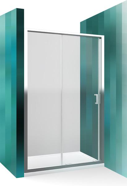 Roltechnik Sprchové dveře posuvné - LLD2/120 cm