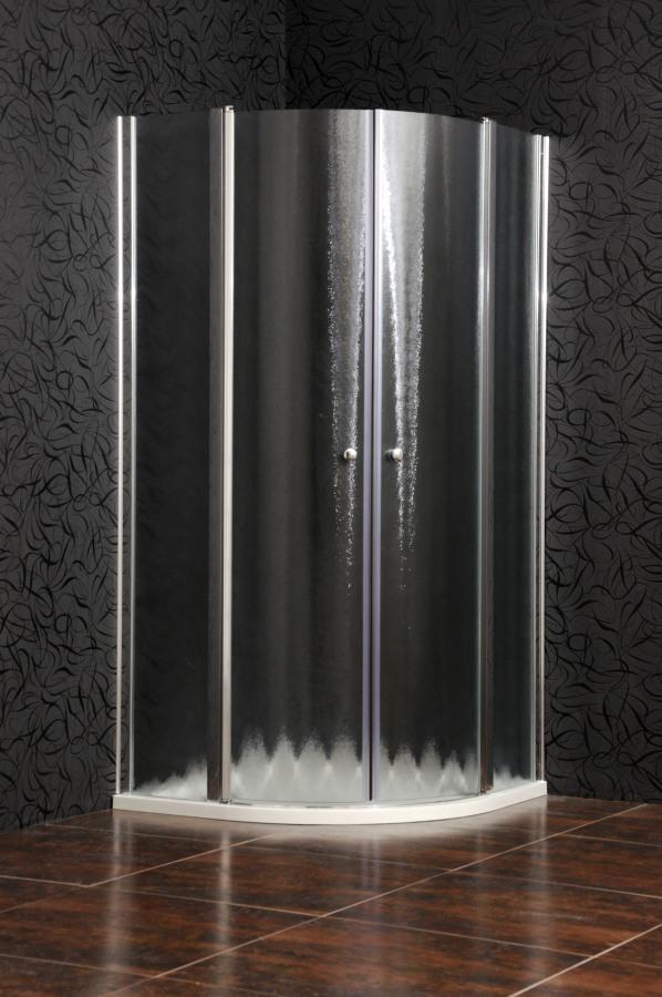 Arttec SMART 90 chinchila NEW - Sprchová zástěna čtvrtkruhová