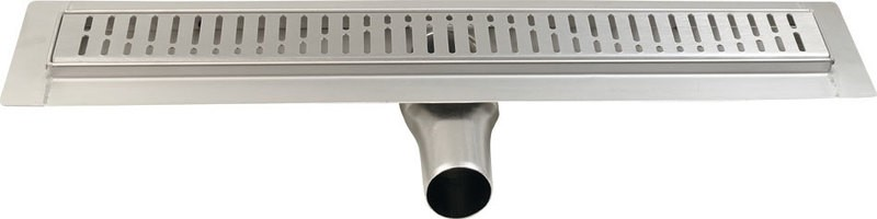 GELCO MANUS nerezový sprchový kanálek s roštem ONDA, 1050 x 130 x 55 mm