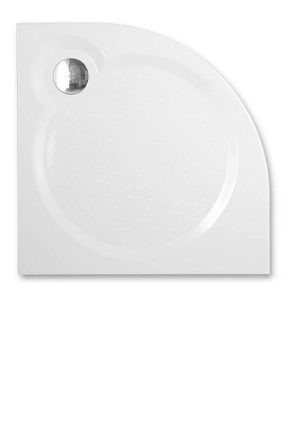Roltechnik TAHITI-M/900 - Čtvrtkruhová sprchová vanička z litého mramoru
