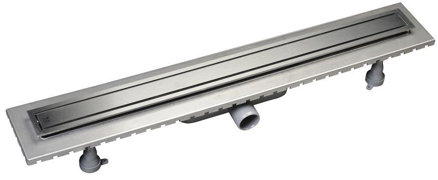 SAPHO ESSEFLOW 82 nerezový kanálek s roštem 820 x 66 mm