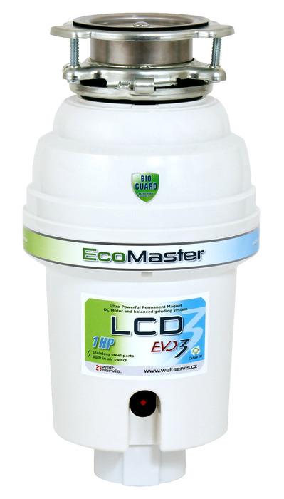 Drtič odpadů EcoMaster LCD Plus
