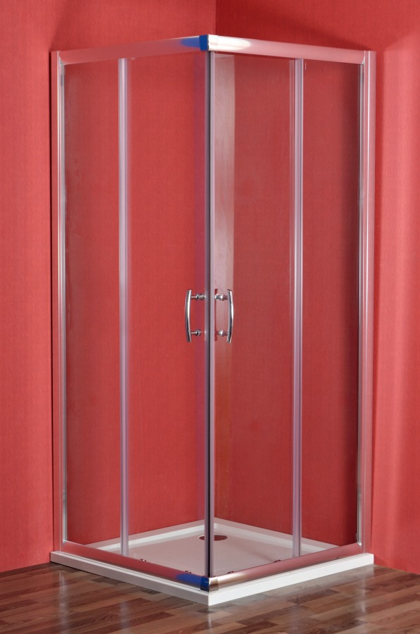 Arttec SMARAGD 90 x 80 cm clear NEW sprchový set s vaničkou STONE (PAN01175)