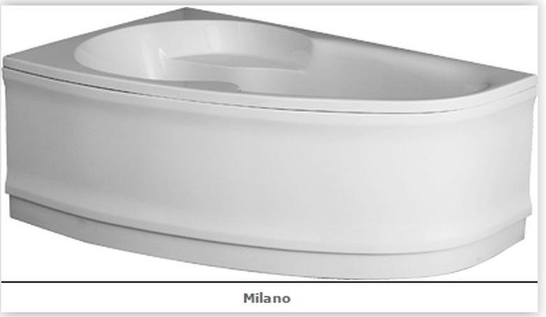 Olsen Spa Vanový panel MILANO - 1500 × 950 mm, objem 150 l