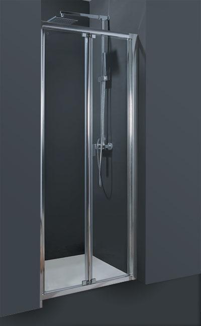 Sprchové dveře HOPA CORDOBA II 90 Výplň: čiré