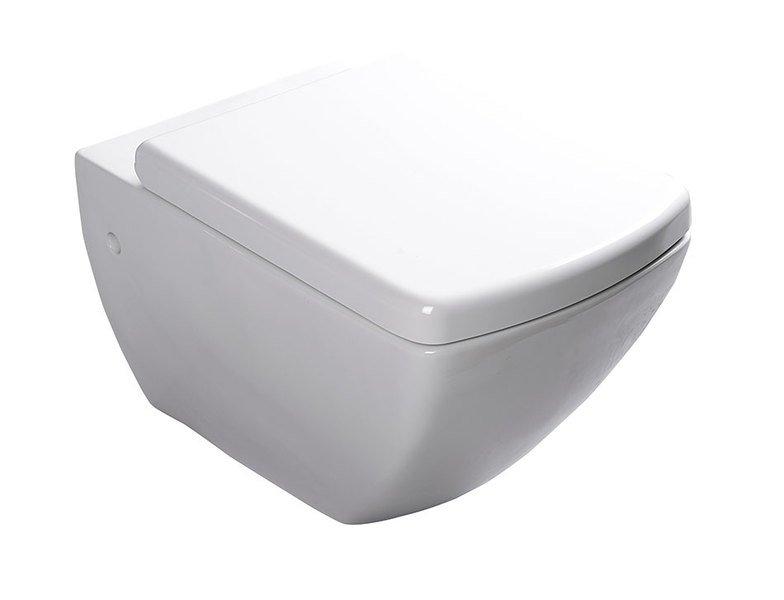 SAPHO PURITY WC závěsné s bidetovou sprškou 35x55,5cm, bílá
