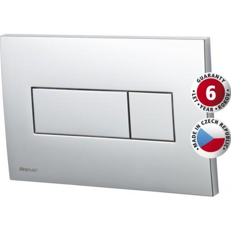 OLSEN-SPA Ovládací WC tlačítko M370 - BÍLÉ