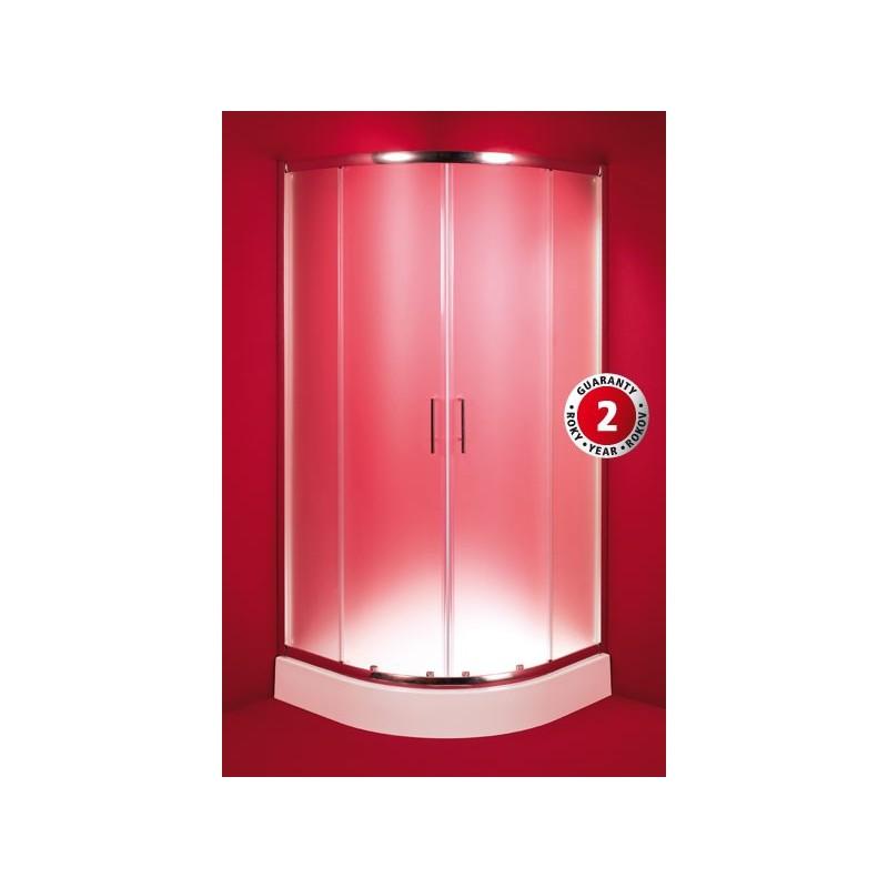 Čtvrtkruhový sprchový kout HOPA MURCIA Rozměr: 80 cm