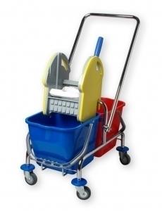 EU Úklidový vozík dvouvědrový