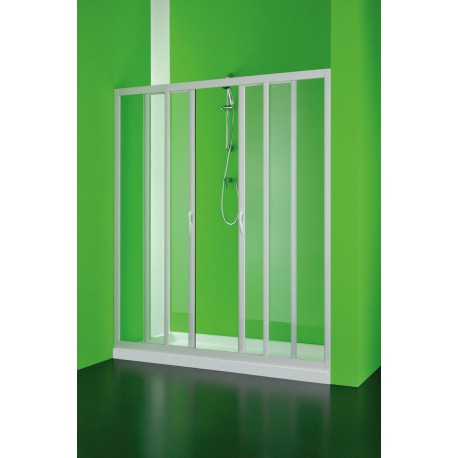 Olsen Spa Sprchové dveře Maestro centrale 150–140 × 185 cm Výplň: polystyrol