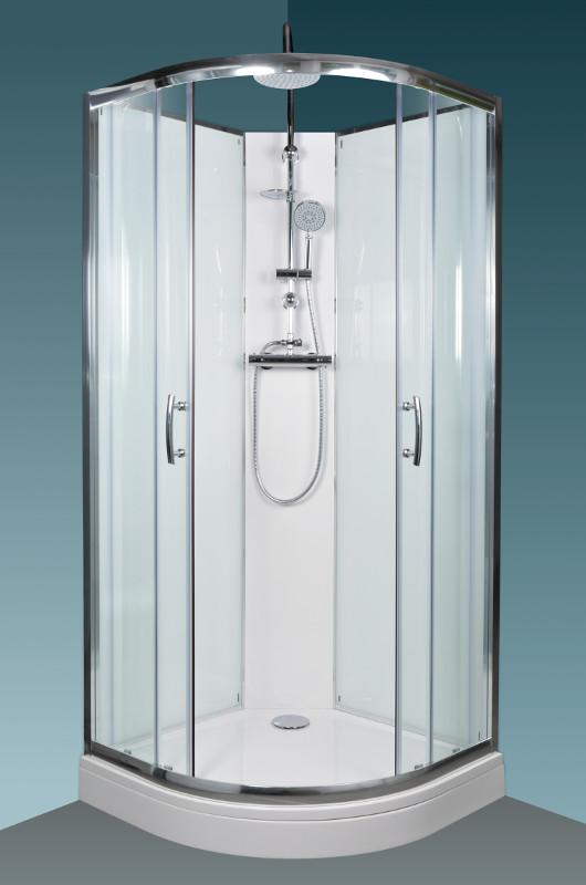 Arttec BRILIANT sprchový box termo clear Výplň: čiré
