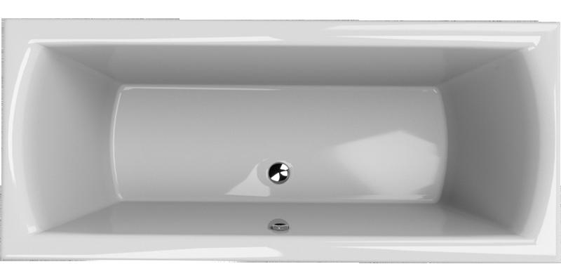 Olsen Spa Obdélníková vana CASERTA 170×70 cm, objem 160 l