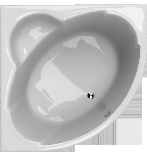 Rohová vana Hopa FORLI 1500 × 1500 mm, objem 250 l