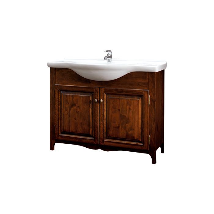 A-interiéry Dita 105 - koupelnová skříňka s keramickým umyvadlem
