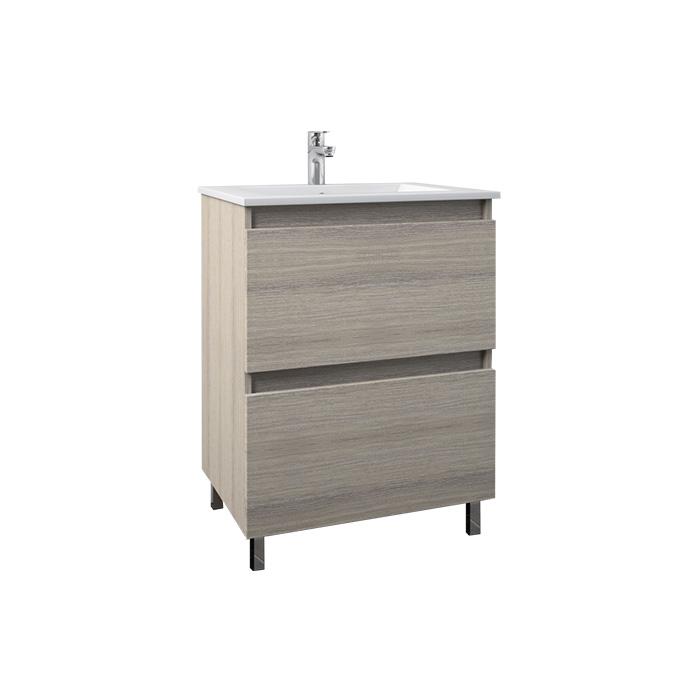 A-interiéry Mari 60 - koupelnová skříňka závěsná s keramickým umyvadlem