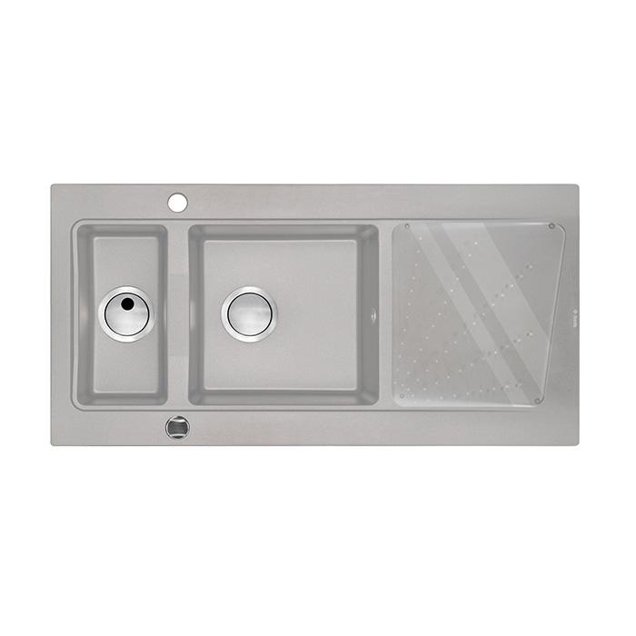 A-interiéry Malibu S513 Kuchyňský granitový dřez