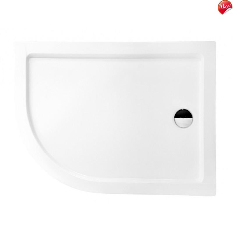 Hopa MIJAS - ARIES - sprchová vanička akrylátová 100x80x5,5cm, R550, levé provedení