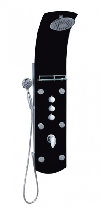 Eisl Sanitär KARIBIK ORSP-YMSBB černý sprchový panel masážní