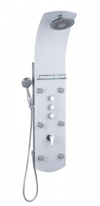 Eisl Sanitär KARIBIK ORSP-YMSBW bílý sprchový panel masážní
