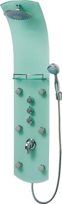 Eisl Sanitär KARIBIK ORSP-YMSB zelený sprchový panel masážní