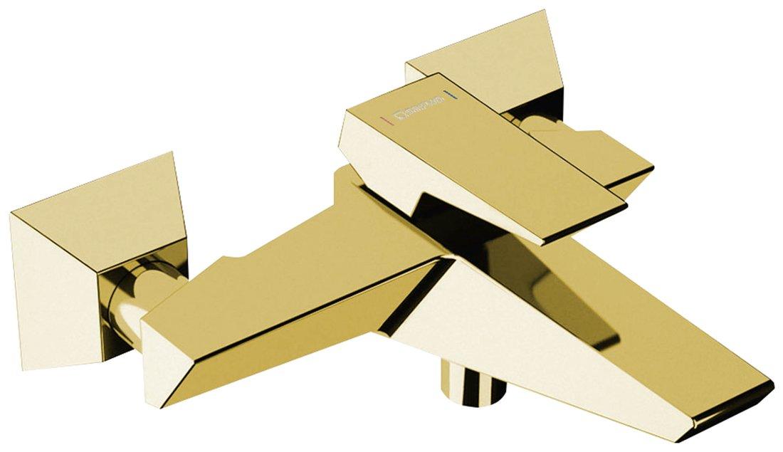 SAPHO MORADA nástěnná vanová baterie, zlato