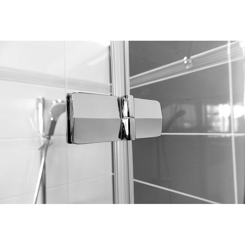 Mereo Sprchový kout, Fantasy Exclusive, čtverec jednokřídlý, 90 cm, chrom. profily, sklo Čiré