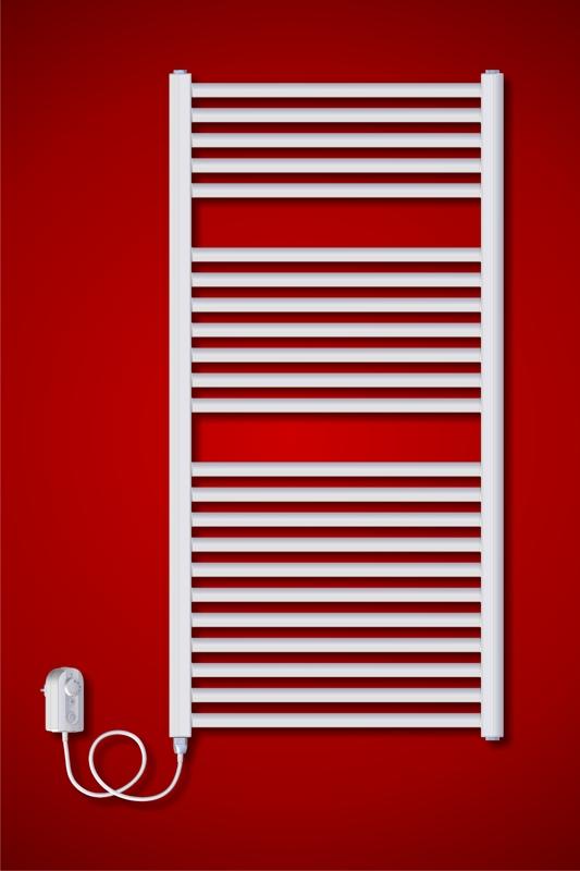 ELVL BKL.ER 450 x 1800 mm koupelnový topný žebřík