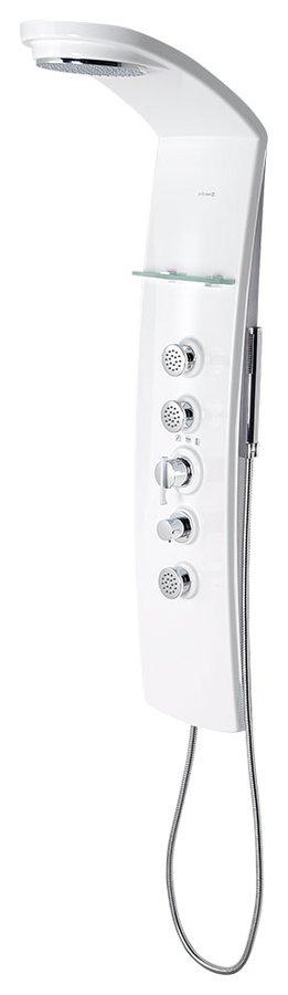 Polysan LUK sprchový panel 250 x 1300 mm s termostat. baterií, nástěnný (80312)
