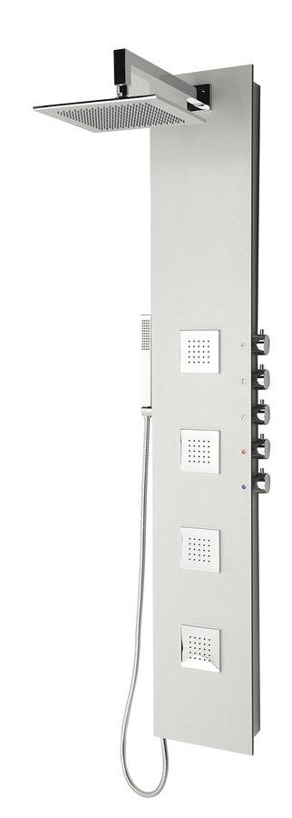 Polysan 5SIDE SQUARE sprchový panel 250x1550mm, bílá