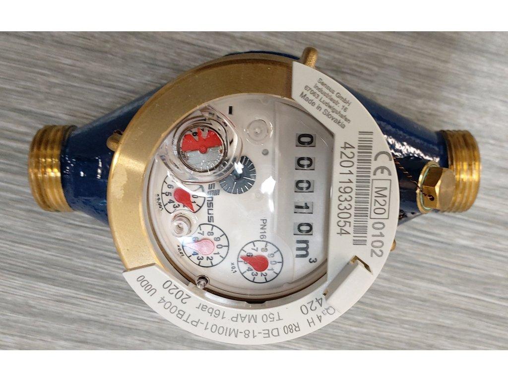 Vodoměr SENSUS 420 015 L165mm G3/4 Q3_2,5 R80
