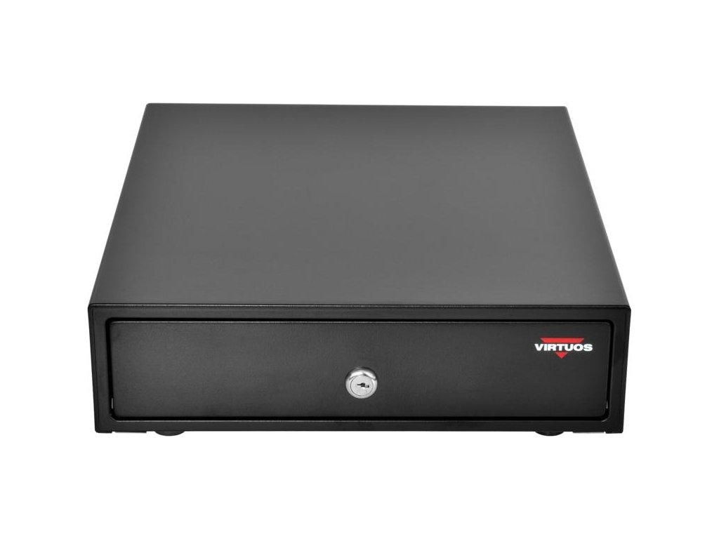 virtuos pokladni zasuvka mikro ek 300c s kabelem poradac 3 4 9 24v cerna