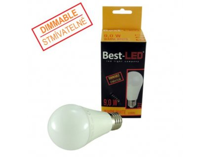 Stmivatelna LED zarovka BE27 9W
