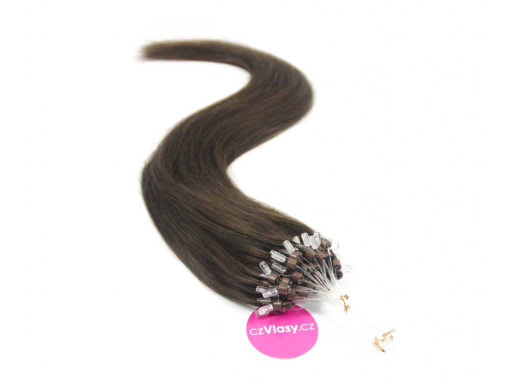 Indické vlasy na metodu micro-ring odstín 2 - czVlasy.cz 675a8b405c