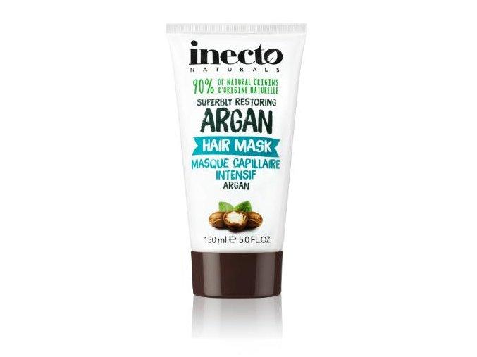 Inecto Naturals Argan maska na vlasy s čistým arganovým olejem 150 ml