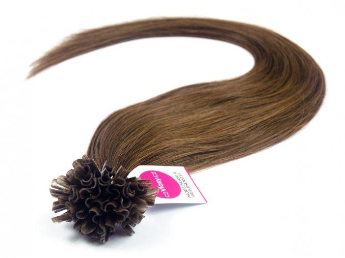 Asijské vlasy na metodu keratin odstín 4