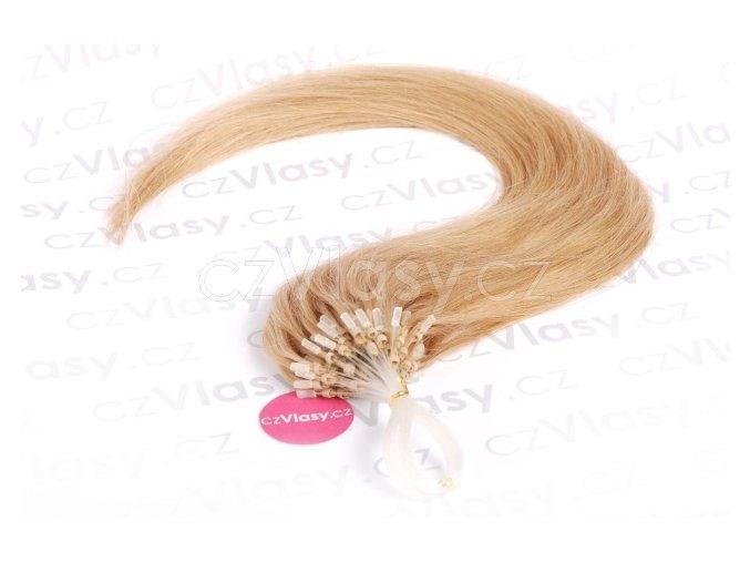 Asijské vlasy na metodu micro-ring odstín 27