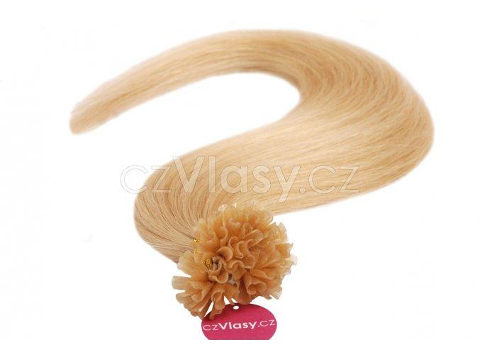 Asijské vlasy na metodu keratin odstín 24 po 20 ks