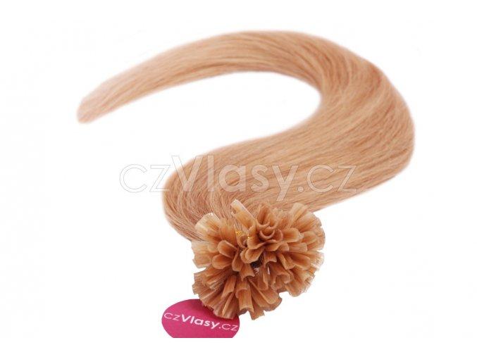 Asijské vlasy na metodu keratin odstín 27 po 20 ks
