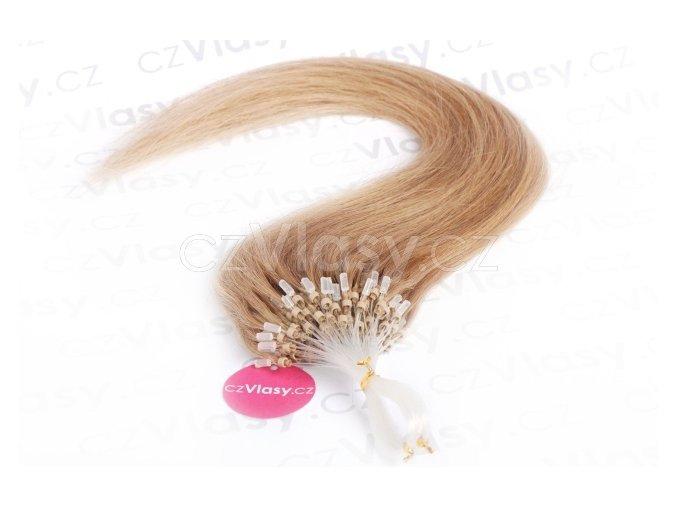 Asijské vlasy na metodu micro-ring odstín 16 po 20 ks