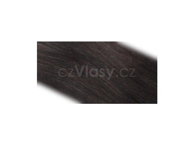 Pás vlasů bez sponek odstín 1B