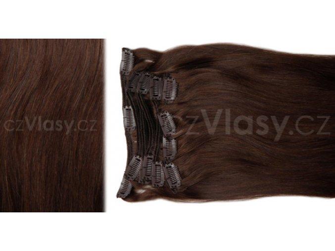 Clip in vlasy odstín 4