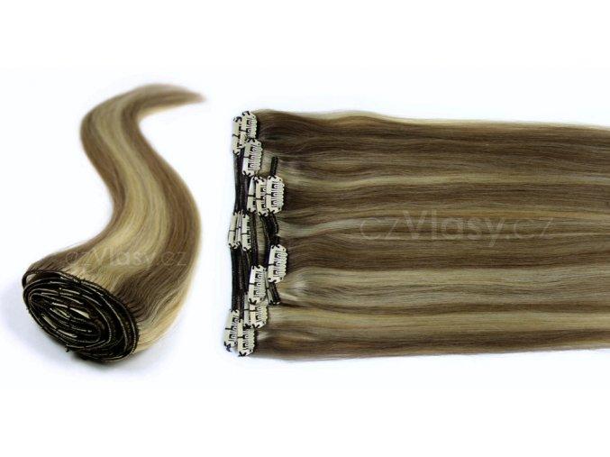 Clip in vlasy odstín 7/613