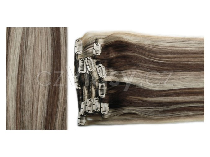 Clip in vlasy odstín 4/613