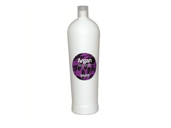 Kallos Argan Colour Shampoo 1000 ml Šampon pro barvené vlasy