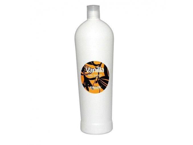 Kallos Vanilla Shine Shampoo 1000 ml Šampon pro oživení suchých vlasů