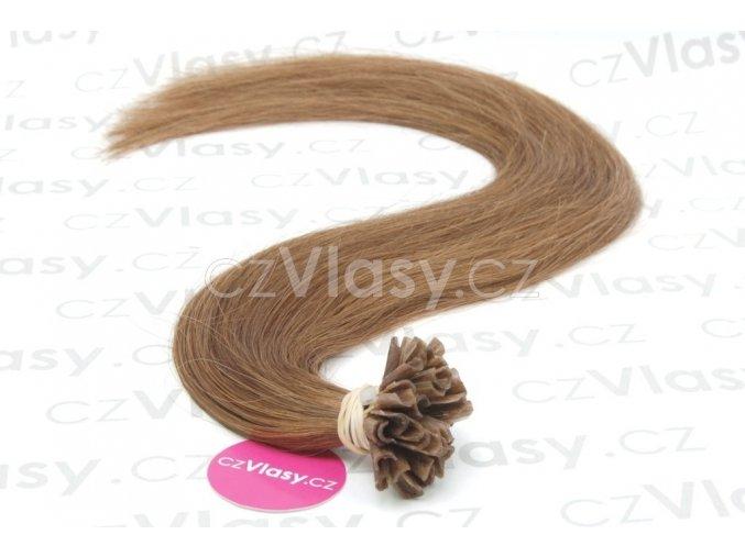Indické vlasy na metodu keratin odstín 12