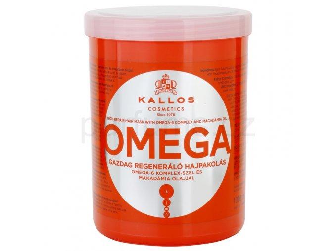 Kallos vyživující maska s omega 6 komplexem a makadamia olejem 1000 ml