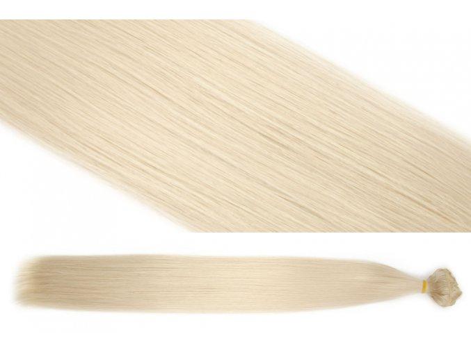 Syntetická clip in sada vlasů 55 cm, 120 gramů, odstín 22